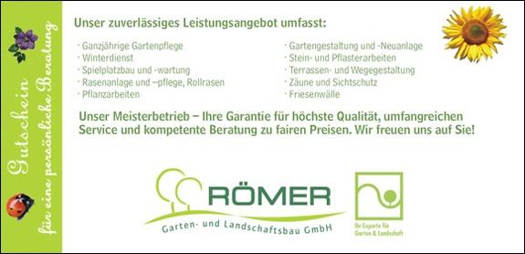 RÖMER Garten- und Landschaftsbau GmbH