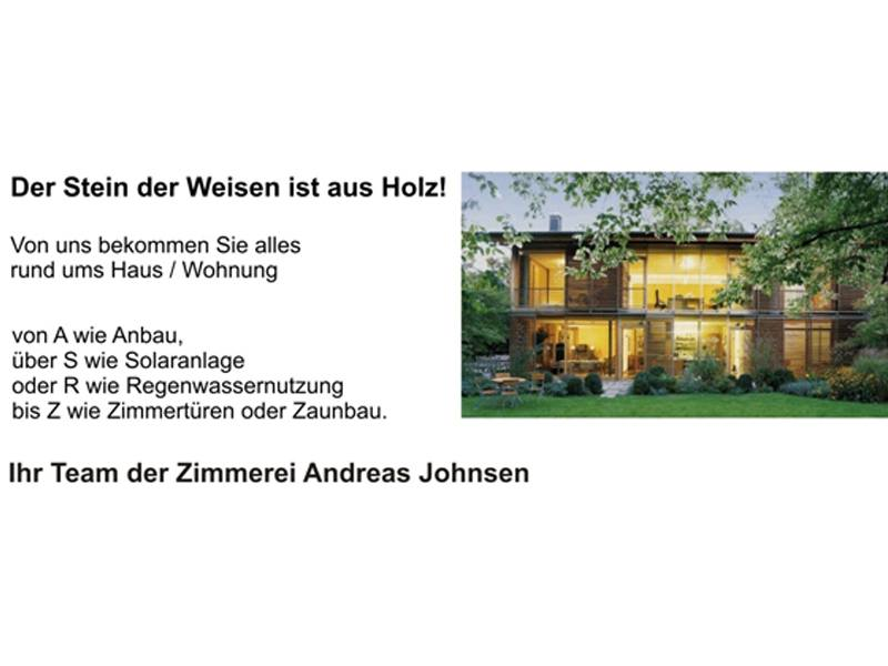 A. Johnsen Zimmerei & Hausbau