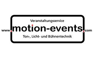 Logo von Motion Events - Jonathan Sing, Veranstaltungsservice