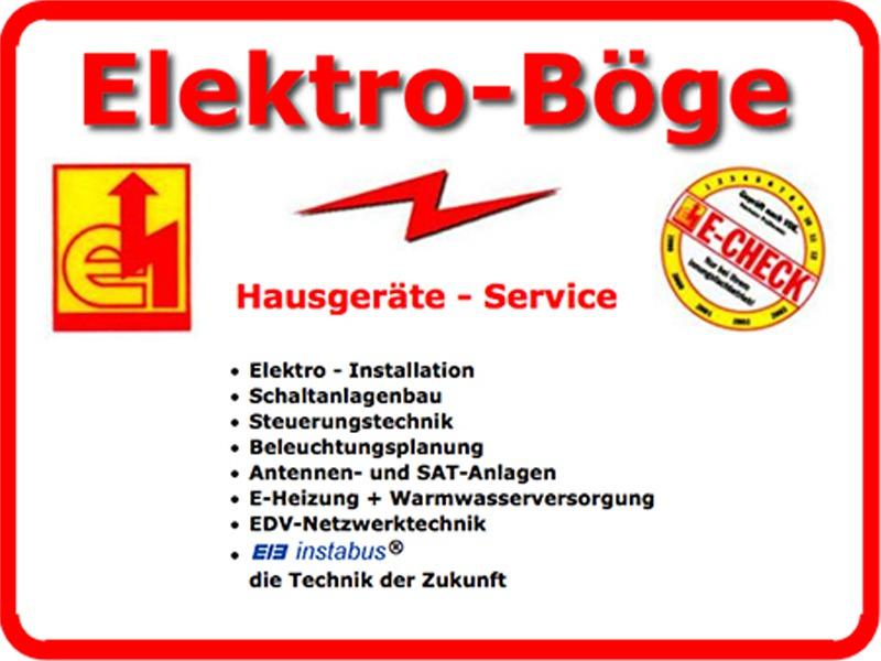 Elektro-Böge