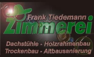 Bild zu Tiedemann Frank Zimmerei in Koberg Kreis Herzogtum Lauenburg