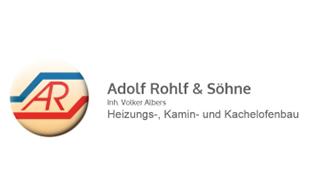 Logo von Adolf Rohlf & Söhne Inh. Volker Albers ZentralHeiz.- u. Kachelofenbau
