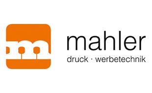 Logo von Mahler GmbH Druck und Werbetechnik