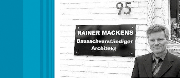 Mackens, Reiner Bausachverständiger Architekt