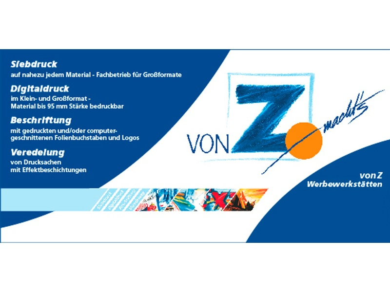 von Z Werbewerkstätten GmbH