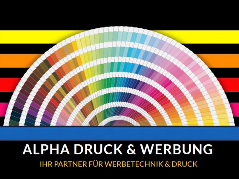 Alpha Druck + Werbung