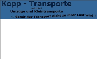 Bild zu Kopp-Transporte Möbeltransporte in Elmshorn