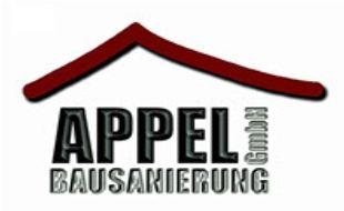 Logo von Appel GmbH Bausanierung Mauertrockenlegung
