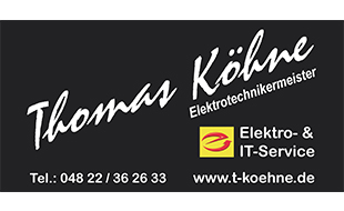 Köhne Thomas Elektro u. IT Service