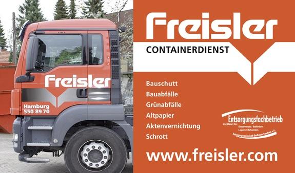 Freisler Containerdienst aus Hamburg