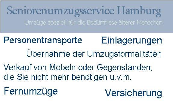 Seniorenumzugsservice Hamburg