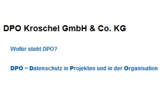 DPO Kroschel GmbH & Co. KG