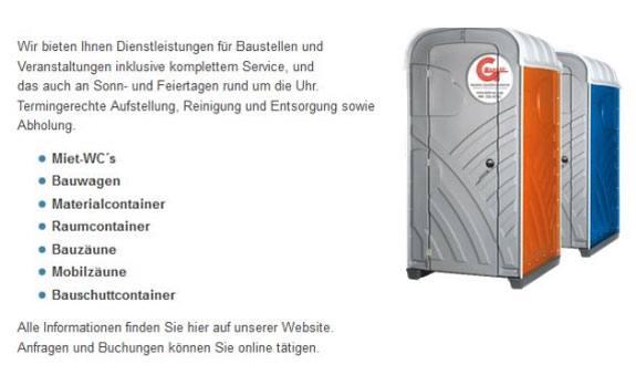 Gagzo Mobile Sanitärsysteme
