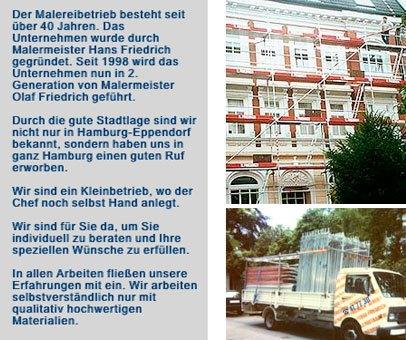 Malereibetrieb Hans Friedrich - Inhaber Malermeister Olaf Friedrich