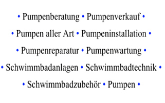 Köster Pumpen aus Hamburg