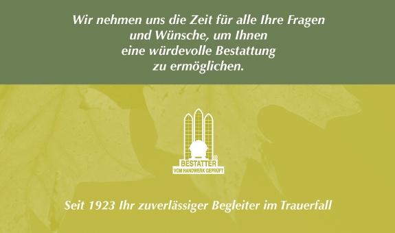 Ruge Bestattungen GmbH