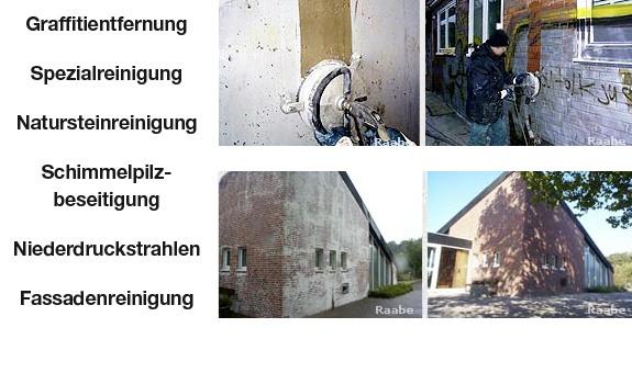 Raabe Graffitientfernung aus Hamburg
