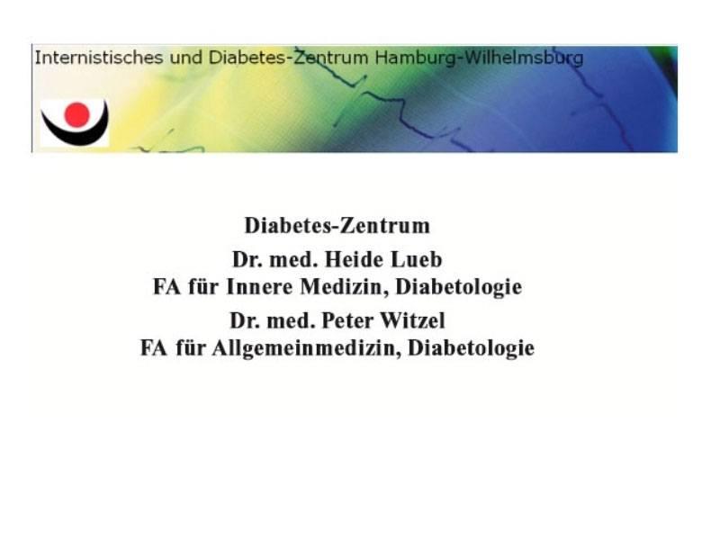 Diabetes-Schwerpunktpraxis Wihelmsburg Dr. Heide Lueb, Dr. Peter Witzel