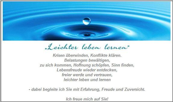 Berger, Hariet - Praxis für Psychotherapie, Psychologische Beratung und Lerntherapie