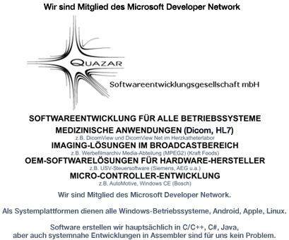 Quazar Software Entwicklungs- und Computervertriebs GmbH