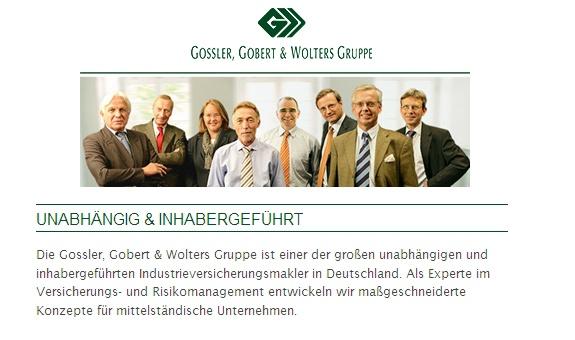 GOSSLER, GOBERT & WOLTERS Assekuranz-Makler GmbH & Co.