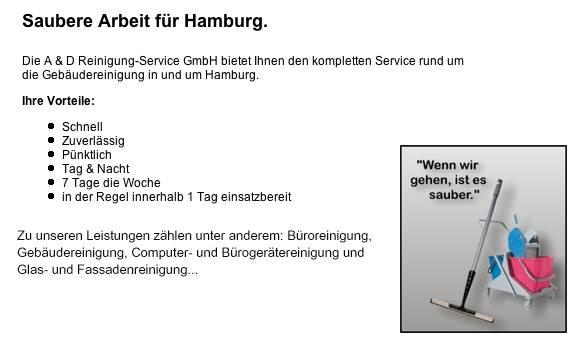 A & D Reinigung-Service GmbH