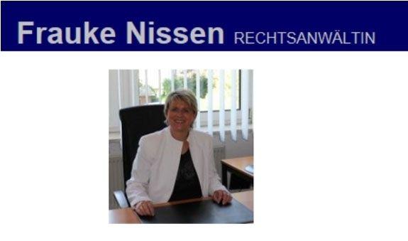Rechtsanwältin Frauke Nissen