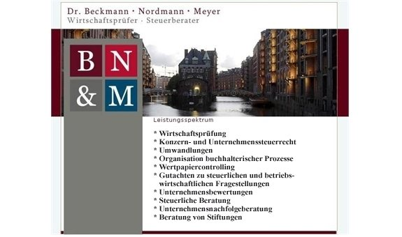 Beckmann Dr., Nordmann Meyer Wirtschaftsprüfer - Steuerberater