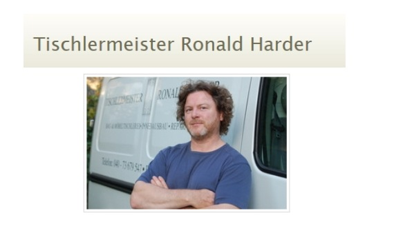 Harder Ronald Tischlermeister