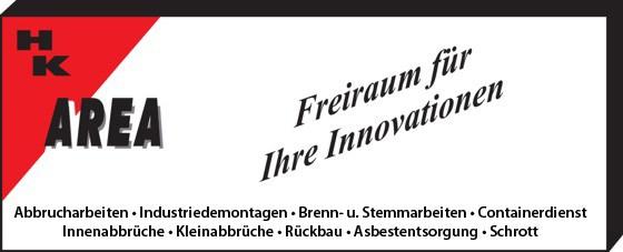 Area Industriedemontagen und Abbruch e.K.