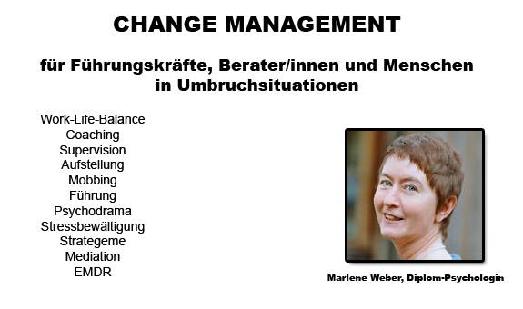 KONTUR Marlene Weber Dipl.-Psych., Organisationsberatung Coaching, Supervision