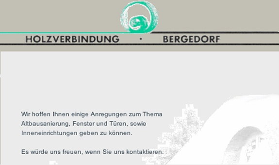 Tischlerei Holzverbindung Bergedorf THB GmbH
