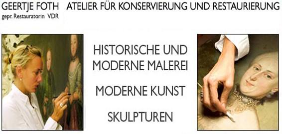 Atelier für Konservierung und Restaurierung Inh. Geertje Foth