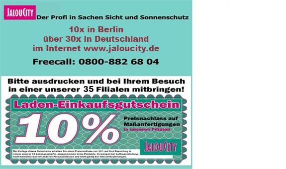 JalouCity Heimtextilien Vertriebs aus Berlin