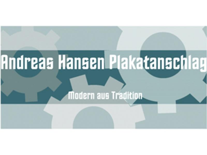 Andreas Hansen Plakatanschlag-Spezialwerbung GmbH