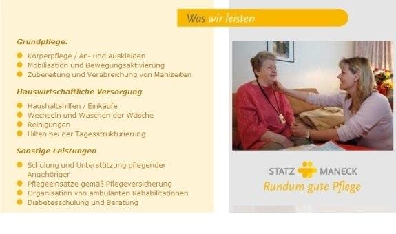 Ambulante Alten- und Krankenpflege,Statz & Maneck