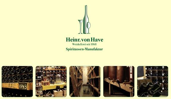Weinkellerei und Spirituosen-Manufaktur Heinr. von Have