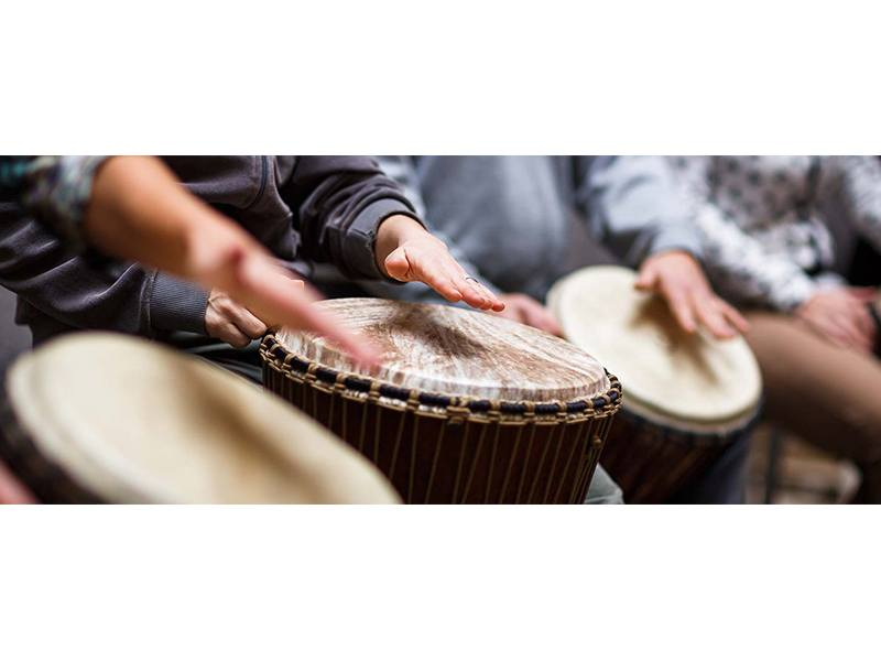 Trommelkunst Trommelschule Rock-