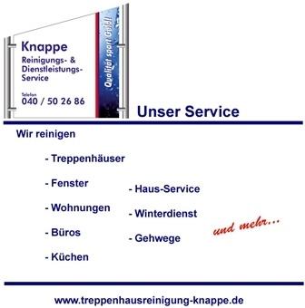 Knappe Reinigungs- &-Dienstleistungs-Service