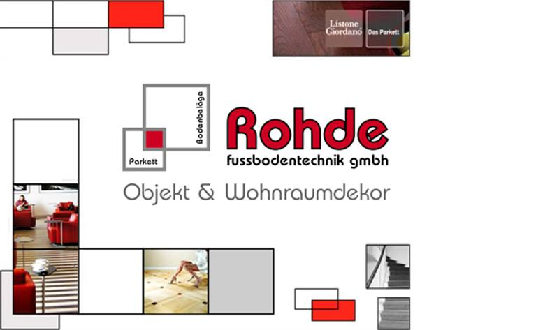 Rohde Fussbodentechnik GmbH Objekt & Wohnraumdekor
