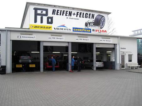Reifen Pio KG - Kfz-Service