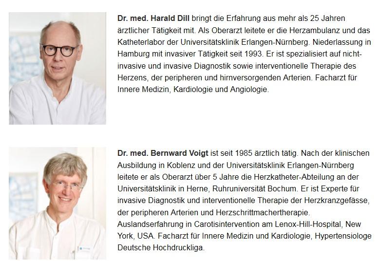 Angiologische-Kardiologische Praxis / Herz- und Gefäßmedizin Esplanade