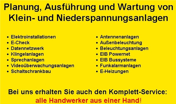 Albern Bernd Elektro Elektro-Installations-Anlagen GmbH