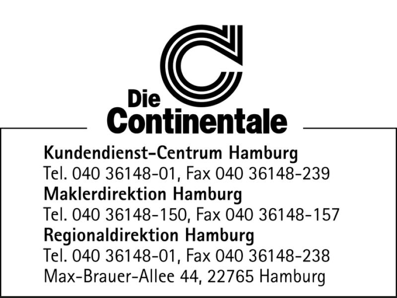 Continentale Versicherungsverbund Regionaldirektion Hamburg 22765