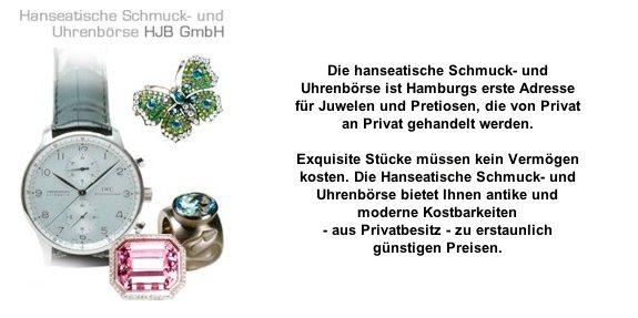 Hanseatische Schmuck- und Uhrenbörs aus Hamburg