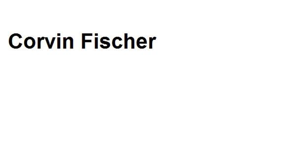 Fischer Corvin Rechtsanwalt