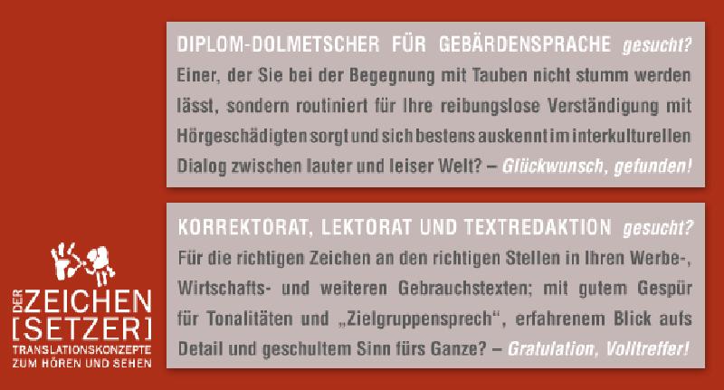 DER ZEICHENSETZER Daniel Grieger