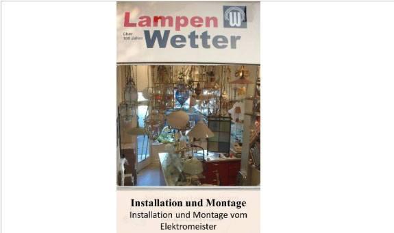Lampen Wetter - Lichthaus Inh. Peter Spieler e. K.