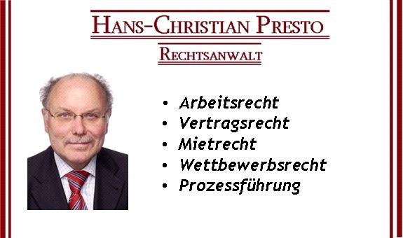 Anwaltsbüro Hans Christian Presto
