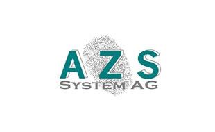 Logo von AZS System AG Zeit und Zutritt Hardwareentwicklung Softwareentwicklung